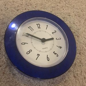 Other - Blue Wall Clock